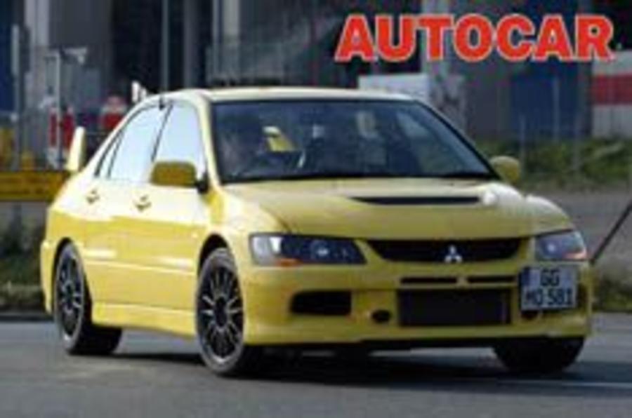 Mitsubishi readies Evo IX