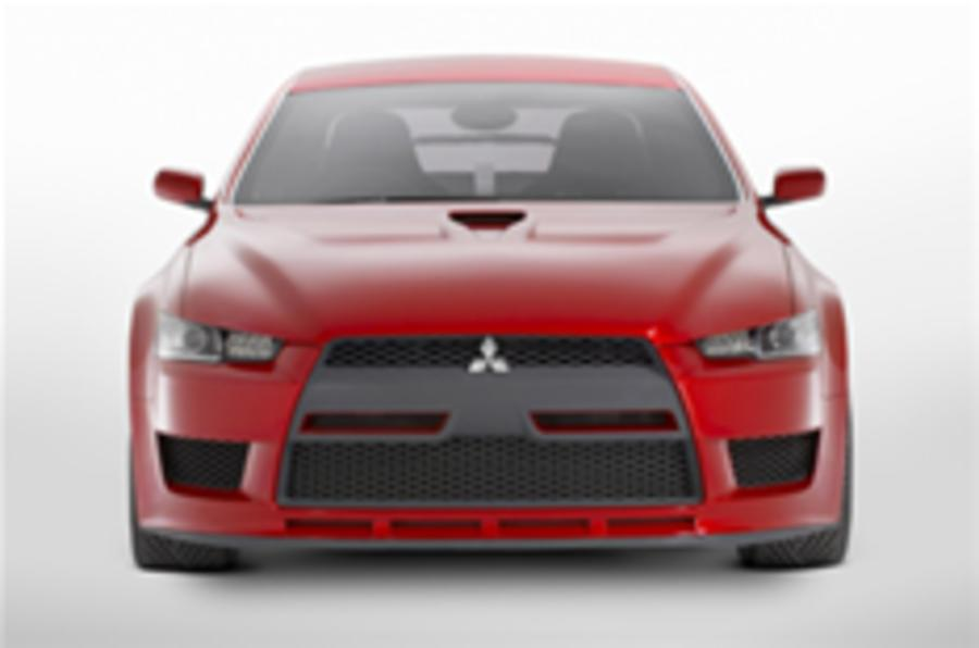 Mitsubishi Evo X prices; Lancer Ralliart