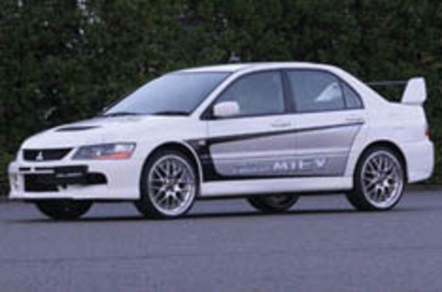 Mitsubishi's electric Evo