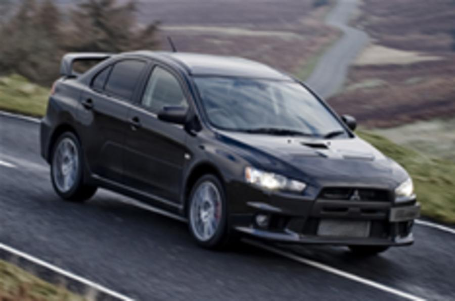 Driven: the first Evo X in Britain