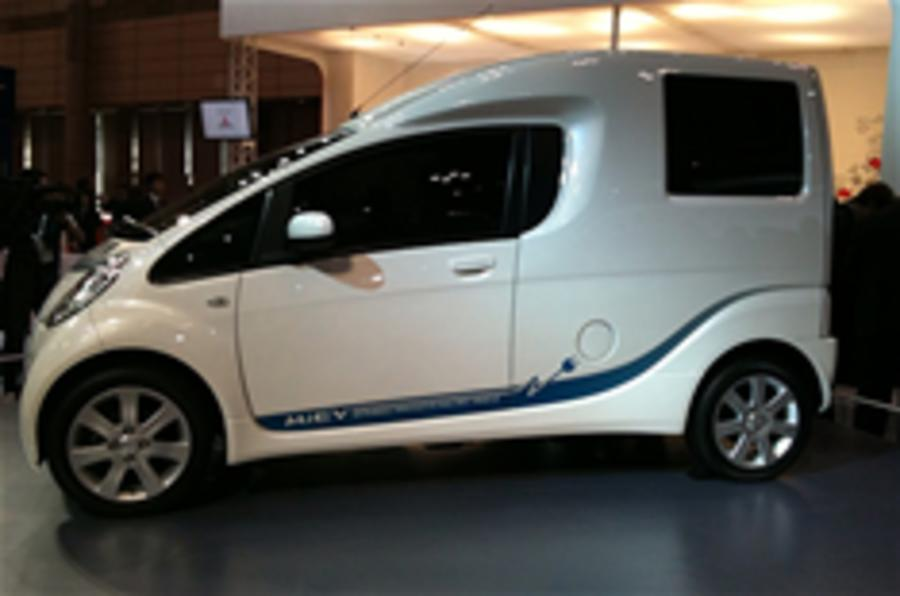 i-MiEV Cargo electric van for UK