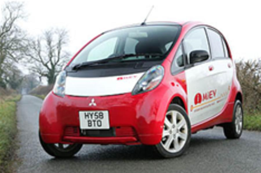 Electric Mitsubishis for Peugeot