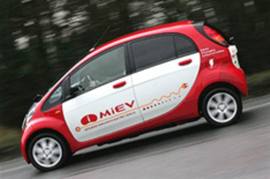 Mitsubishi: 30,000 EVs by 2013