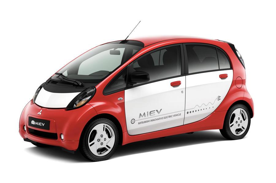 Paris motor show: Euro Mitsubishi i-MiEV