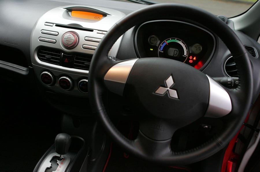 Mitsubishi iMiEV dashboard
