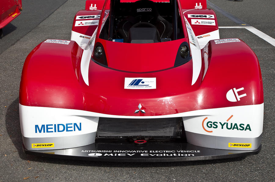 Electric Mitsubishi set to tackle Pikes Peak