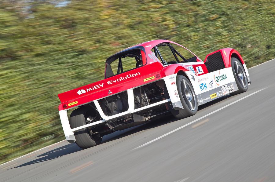 Mitsubishi iMiEV Evo rear quarter