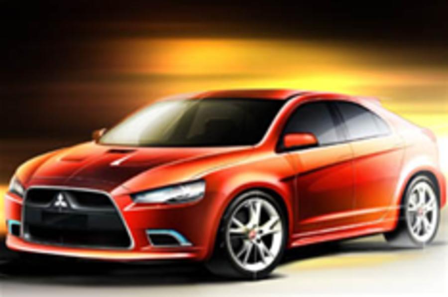 Five-door Lancer aims for WRX