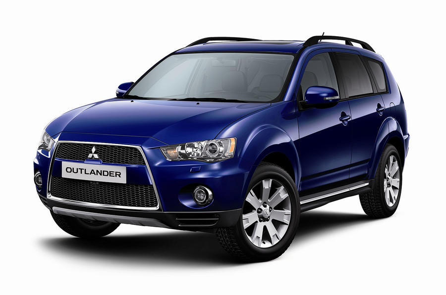 Mitsubishi's FWD Outlander