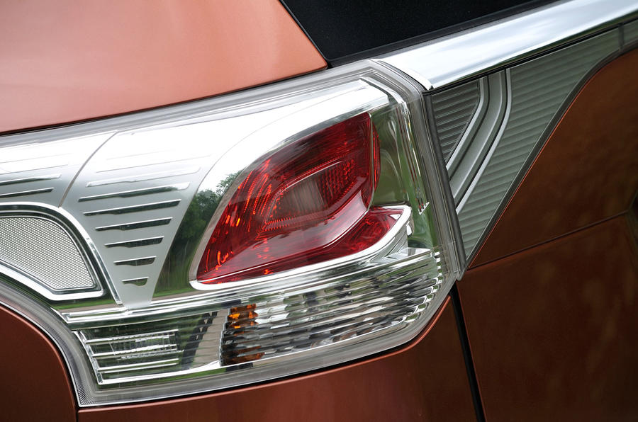 Mitsubishi Outlander rear lights