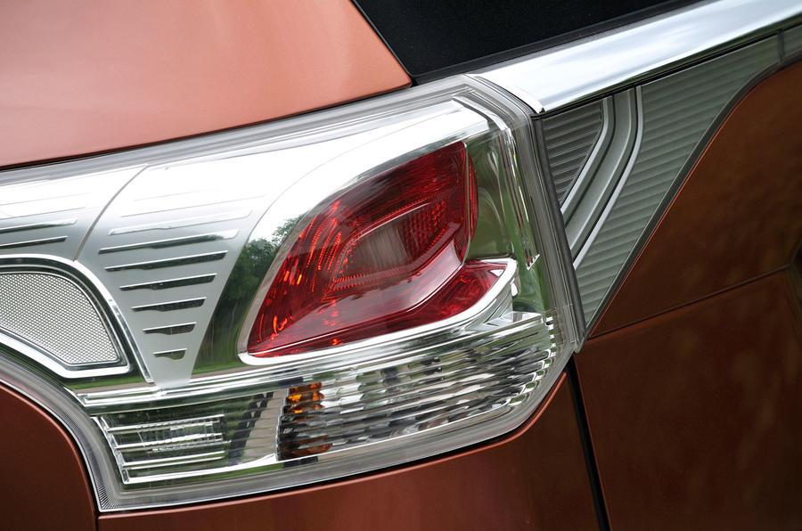 Mitsubishi Outlander rear lights