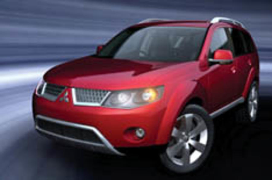 Mitsubishi shows Euro Outlander