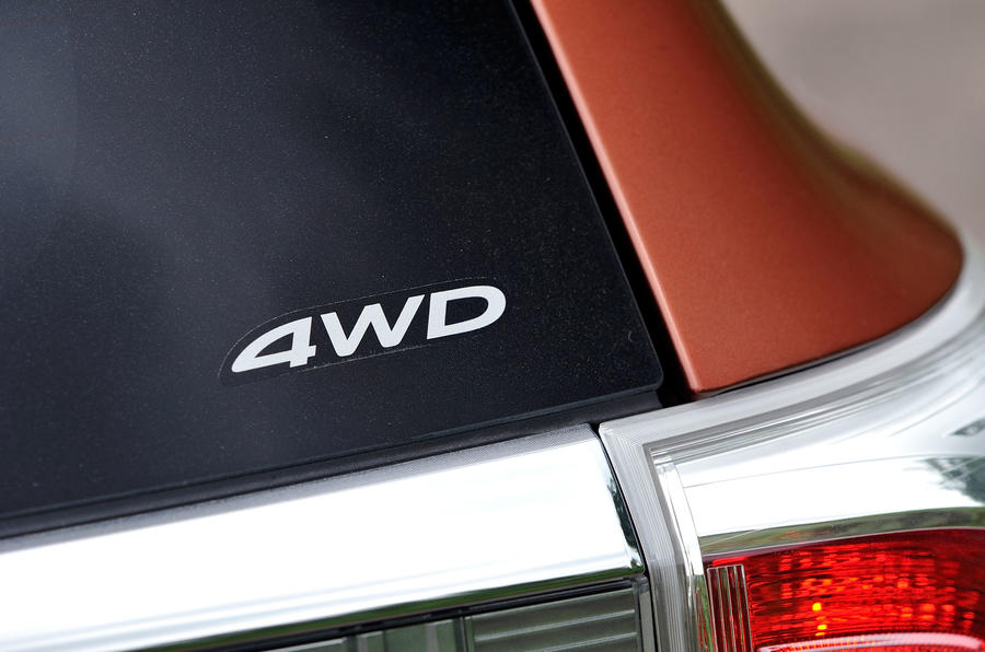 Mitsubishi Outlander 4WD decals