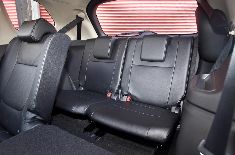 Mitsubishi Outlander third row seats