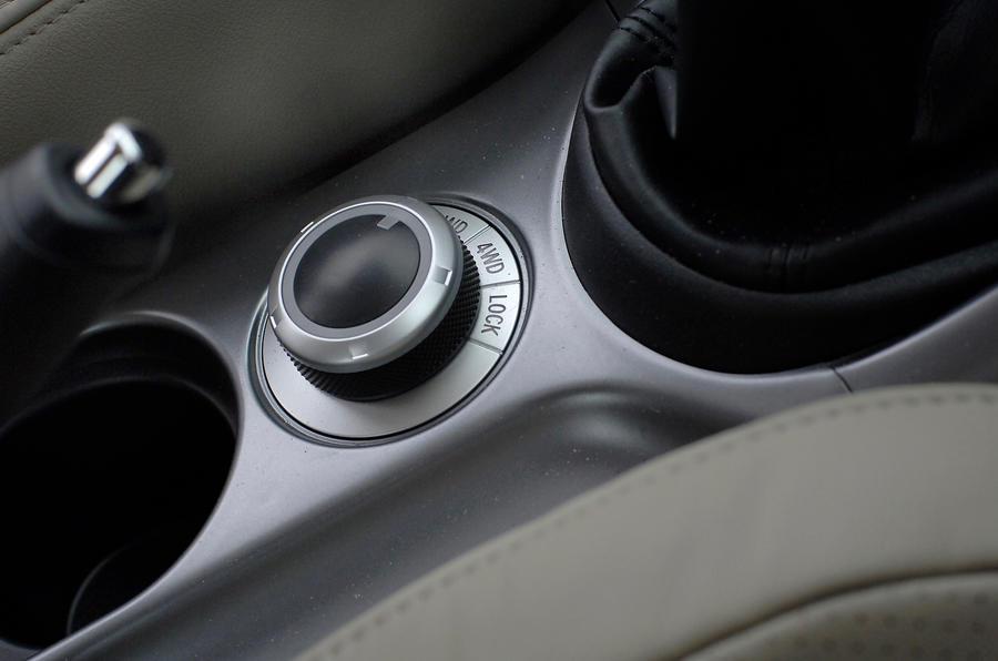 Mitsubishi Outlander four-wheel drive system