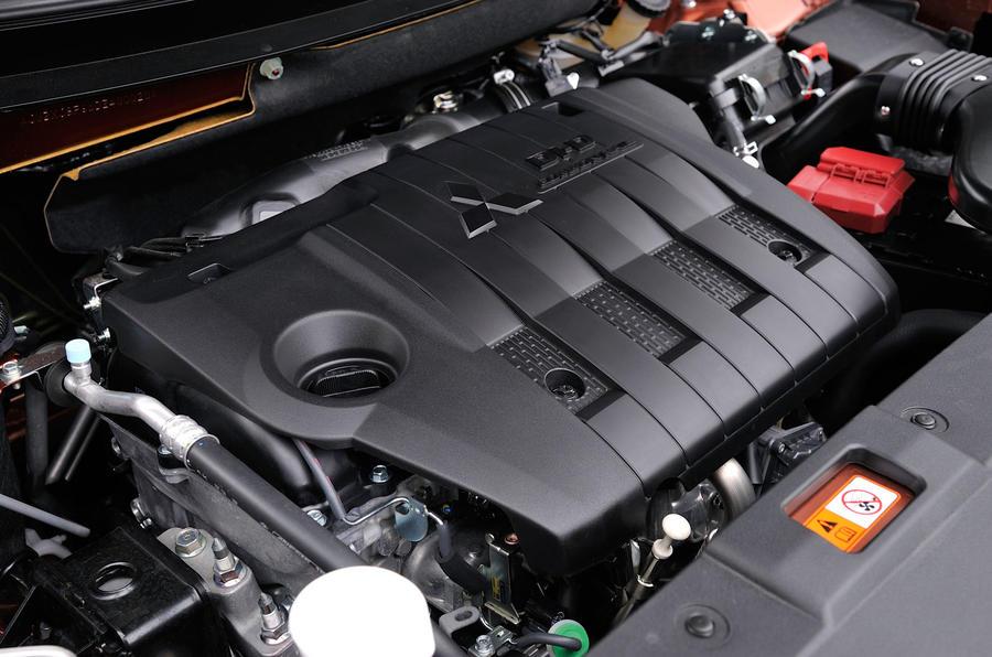 2.2-litre Mitsubishi Outlander diesel engine