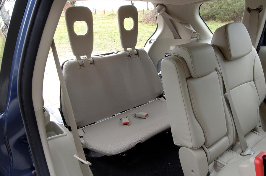 Mitsubishi Outlander third row seats