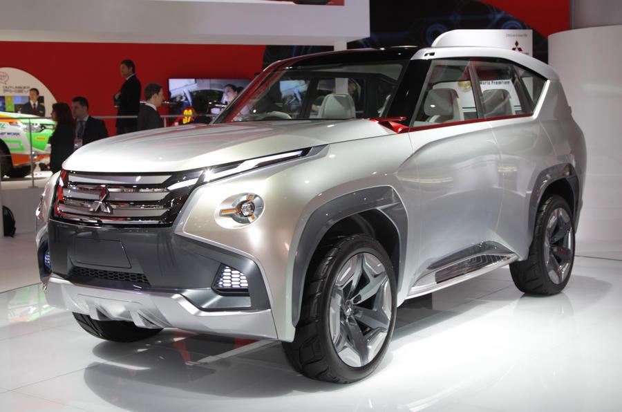 Tokyo motor show 2013: Mitsubishi SUV and MPV concepts