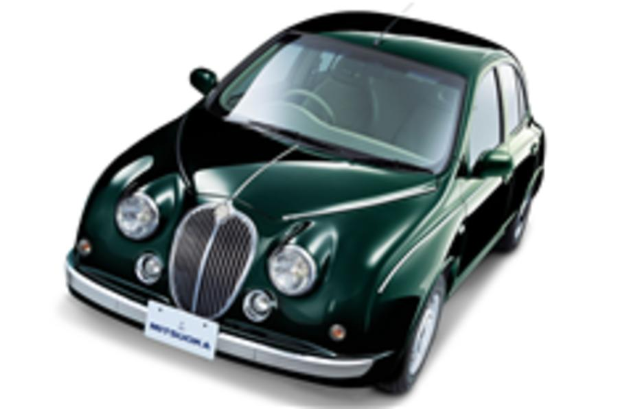 Jaguar MkII meets Nissan Micra
