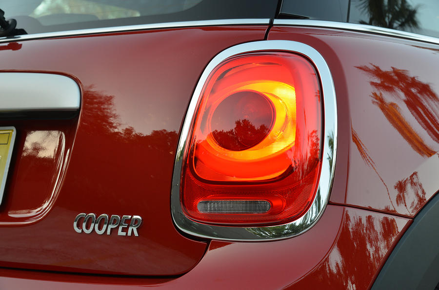 Mini Cooper rear lights