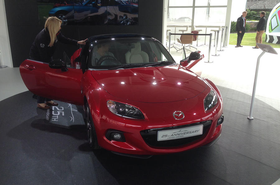 Anniversary edition Mazda MX-5 to be shown at Goodwood