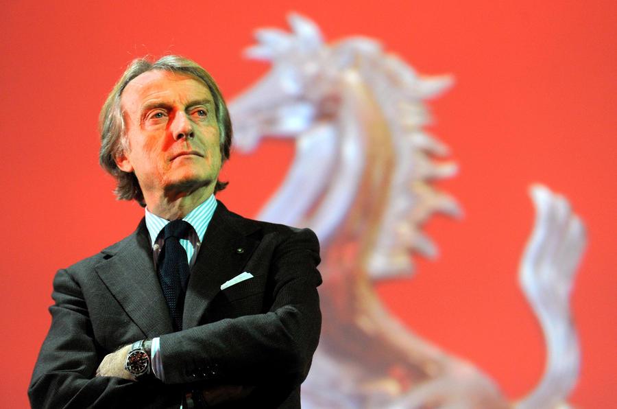 Ferrari president Luca Montezemolo steps down