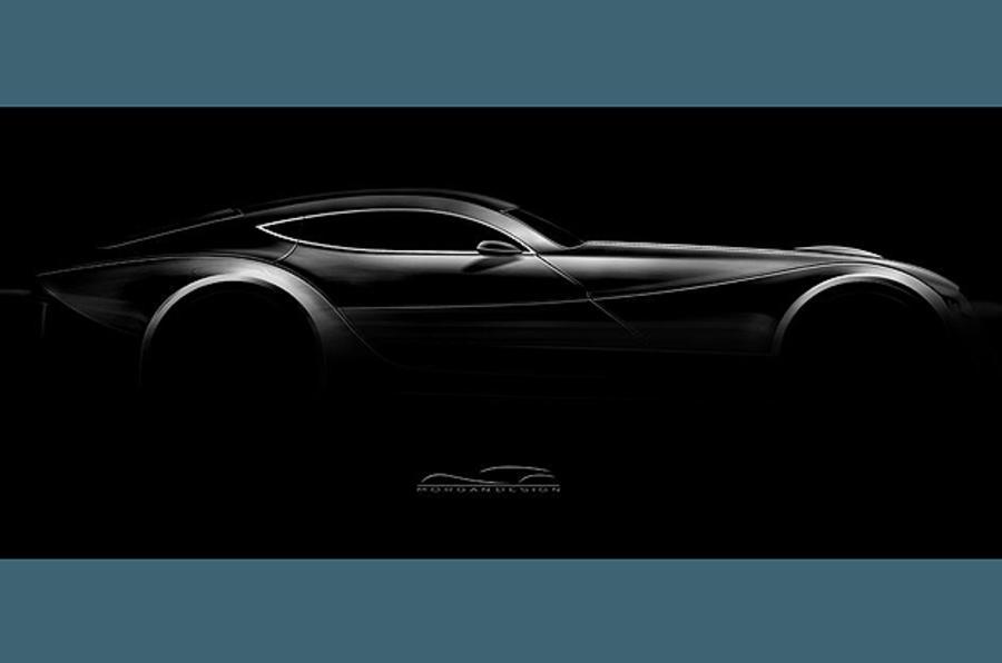 New Morgan Eva GT: first pic