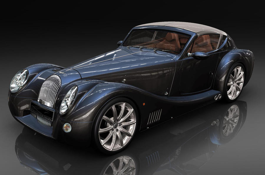 Morgan EV concepts by 2012