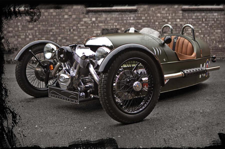 Geneva motor show: Morgan Threewheeler