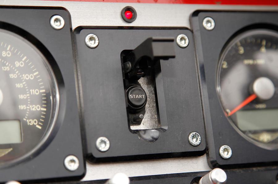 Morgan 3 Wheeler ignition button