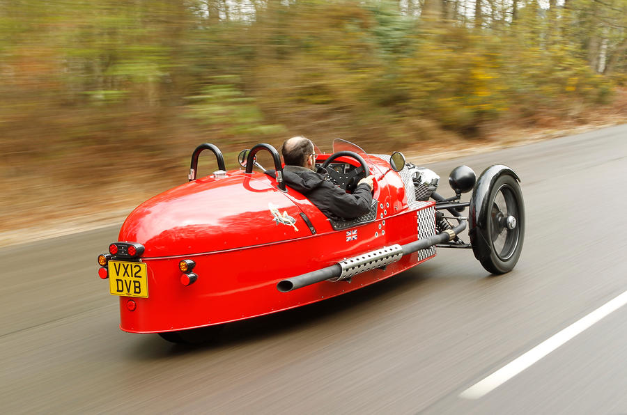 Morgan 3 Wheeler to spawn family and single platform