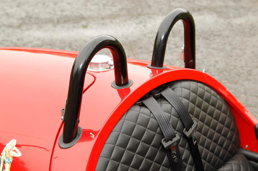Morgan 3 Wheeler roll hoops