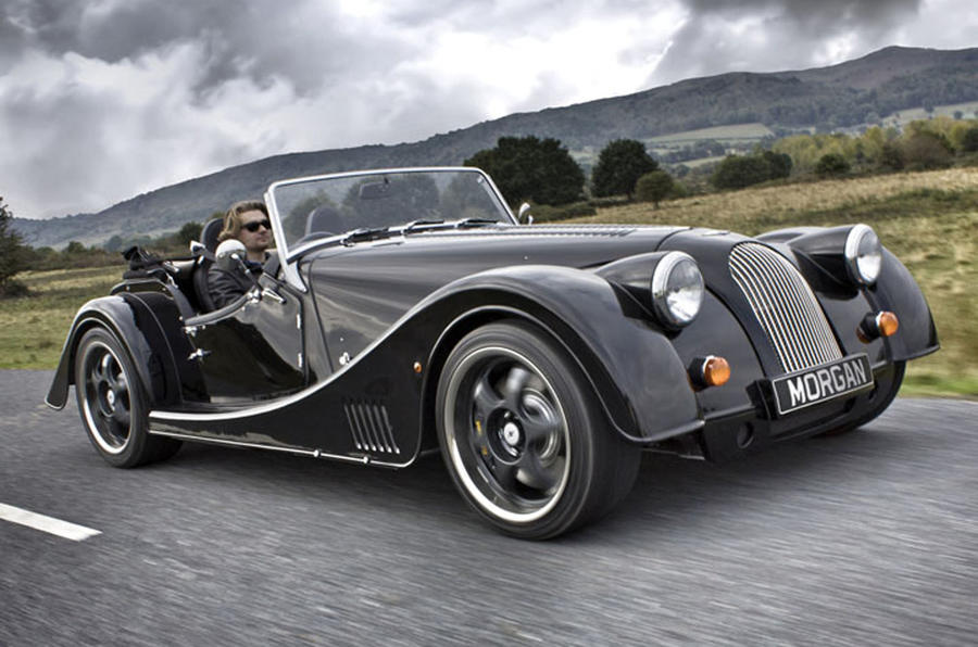 uk debut at goodwood for morgan plus 8 autocar. Black Bedroom Furniture Sets. Home Design Ideas