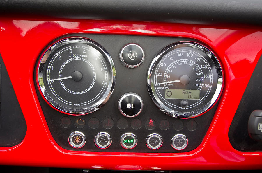 Morgan Plus 8 instrument cluster
