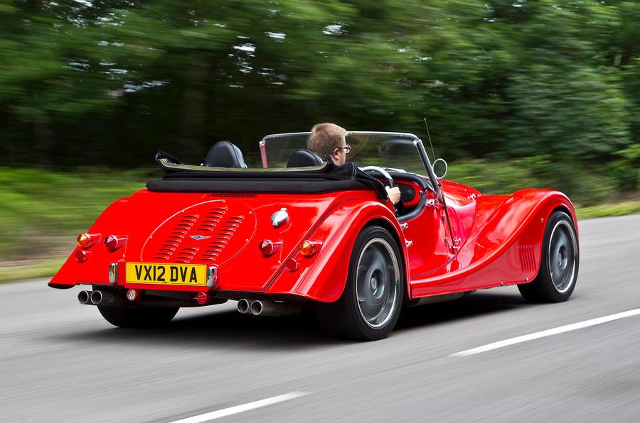 Morgan Plus 8 rear