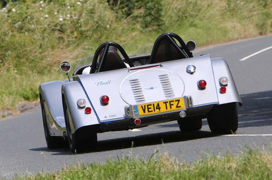Morgan Plus 8 Speedster rear