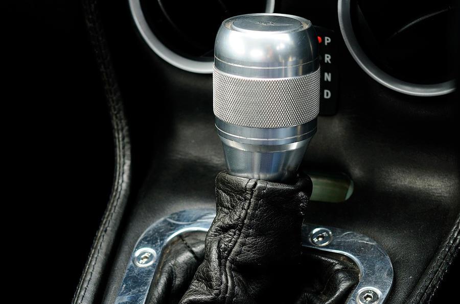 Morgan Aero Supersports manual gearbox