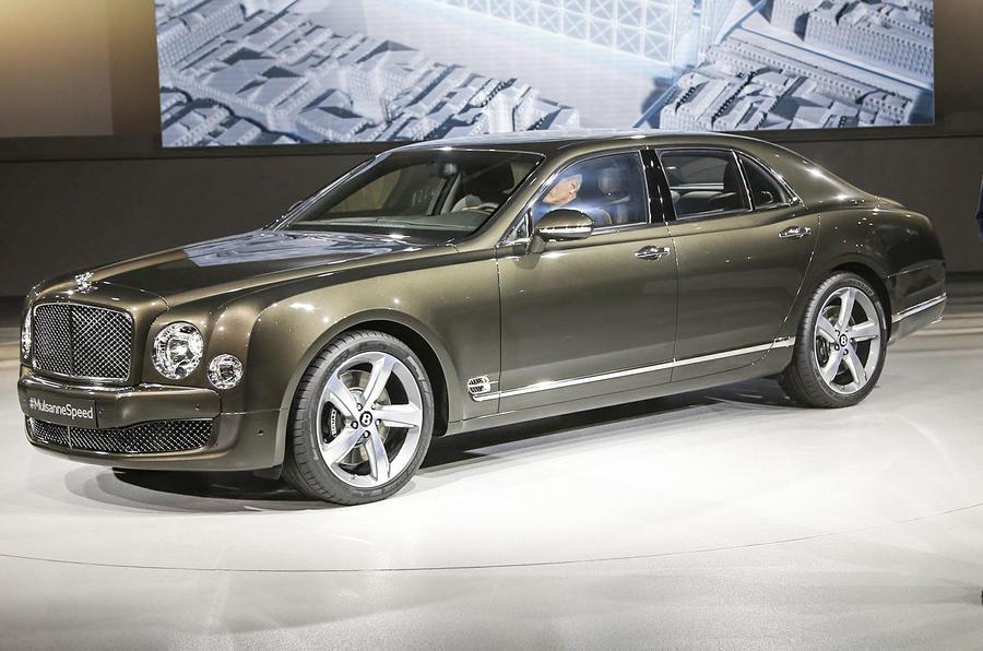 Bentley Mulsanne Speed unveiled