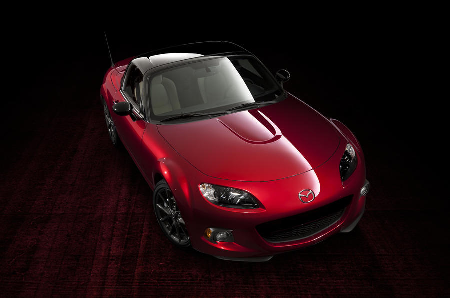 Mazda celebrates MX-5 anniversary with new special edition