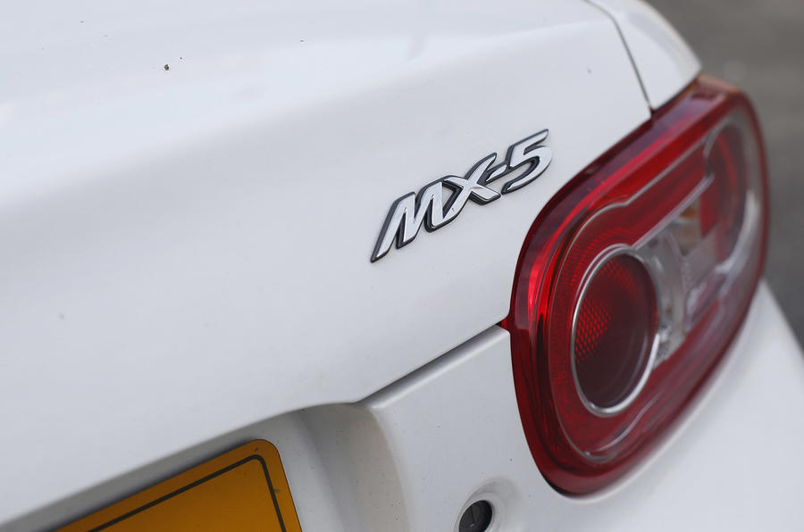 Mazda MX5 BBR GTI Turbo badging
