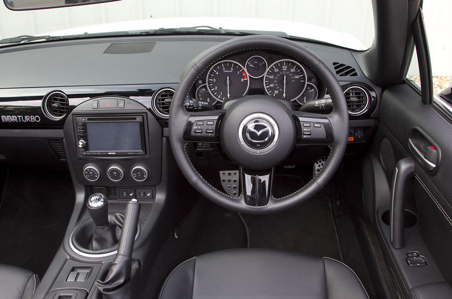 Mazda MX5 BBR GTI Turbo dashboard