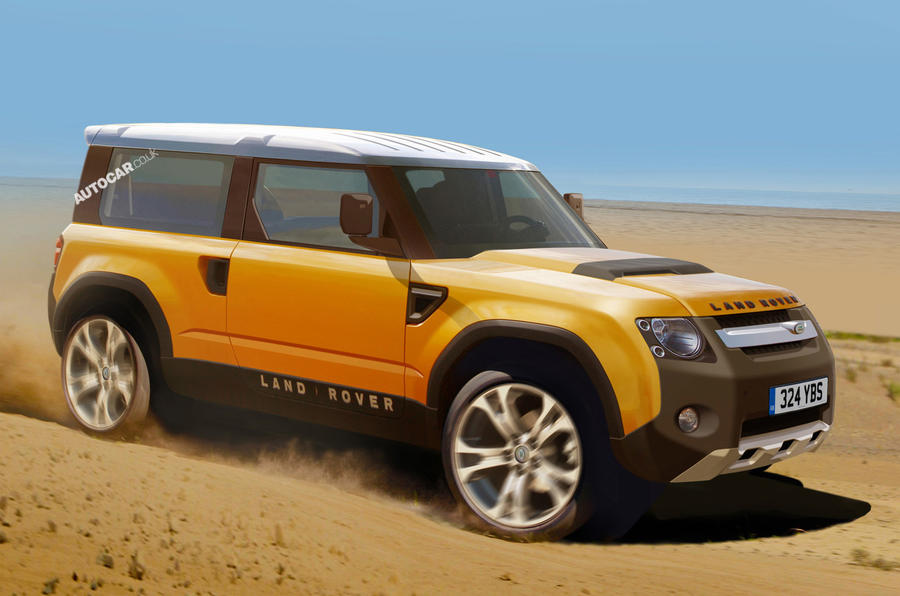 16 new Land Rovers revealed | Autocar