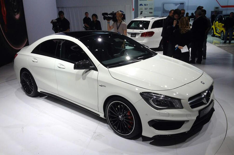 Mercedes CLA45 AMG - first pictures