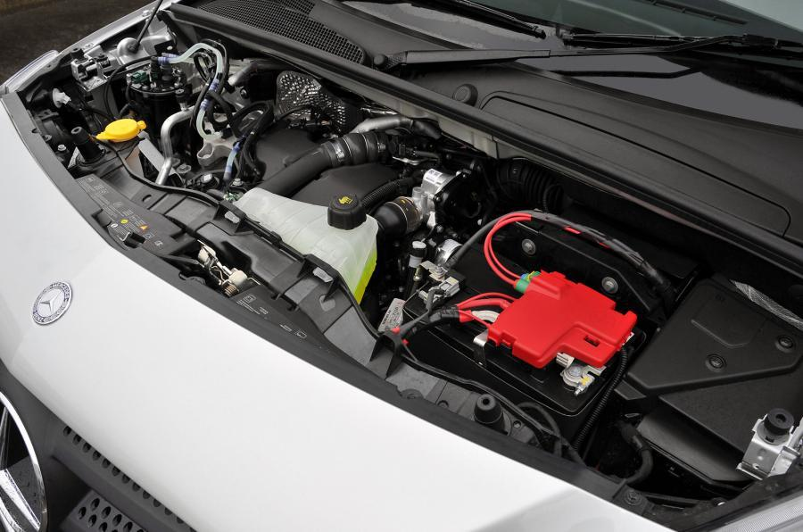 1.5-litre Mercedes-Benz Citan turbodiesel engine