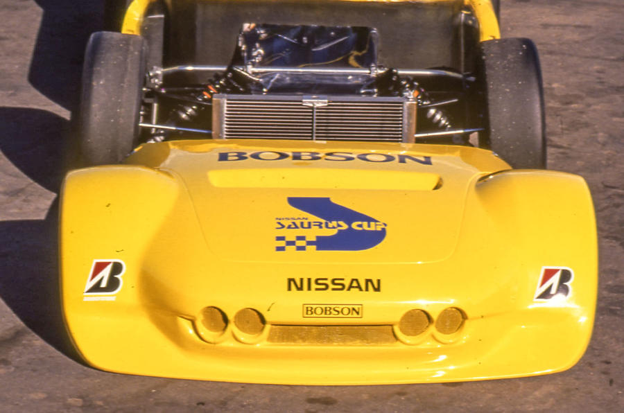 Autocar tests the Nissan Saurus – Nismo's first car