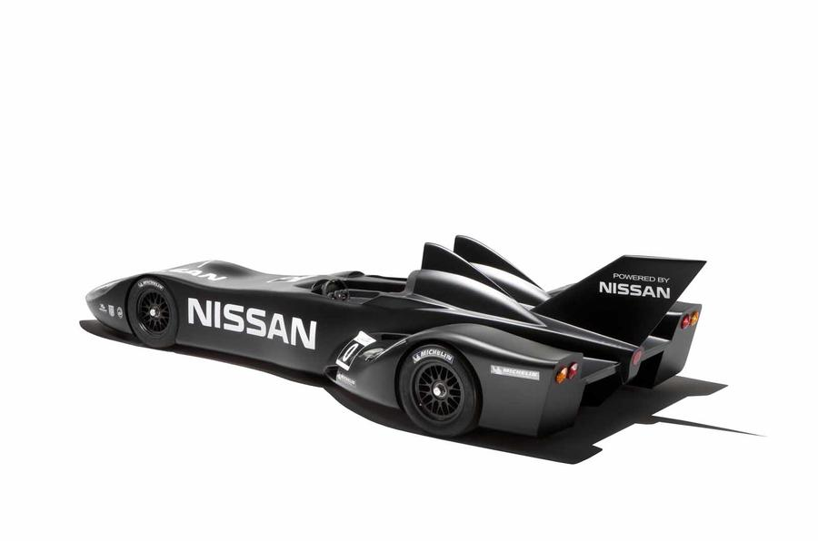 Nissan DeltaWing racer unveiled