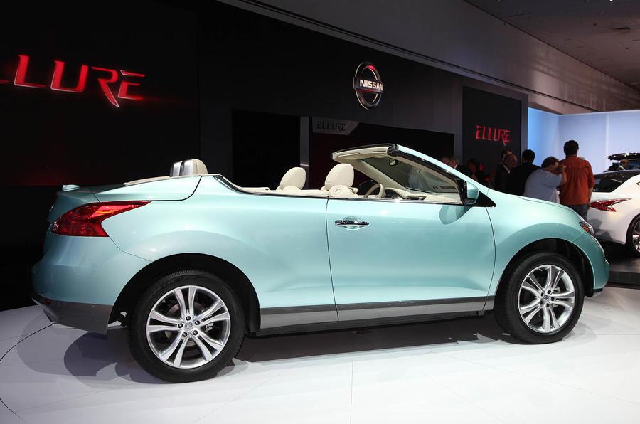 LA motor show: Nissan Murano CC