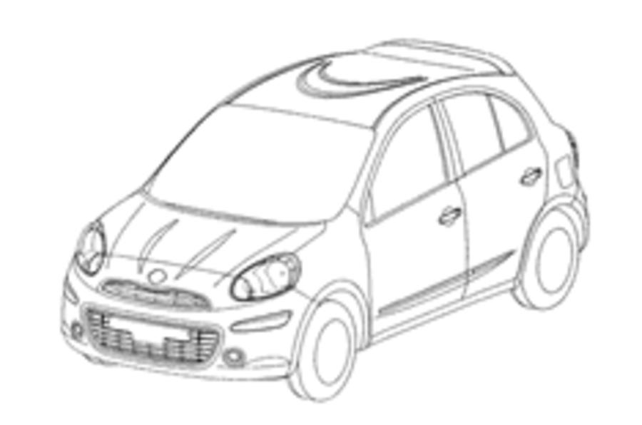New Micra designs leak out