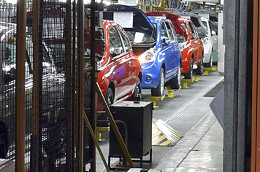 Euro car production falls in 2009