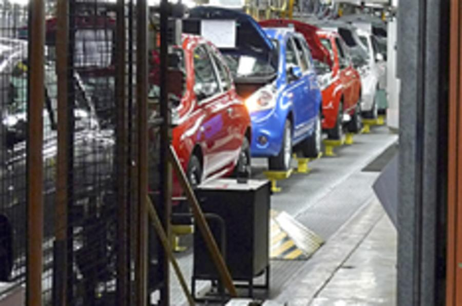 UK car production picks up